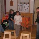 Jedna, dvě, tři...my jsme sestry! 1.-2.3.2008 Kuřim